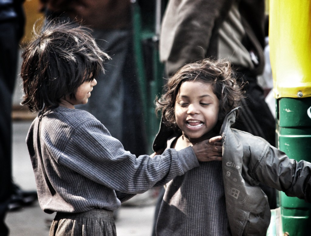 'Childhood', the only time when Happiness comes from within.
