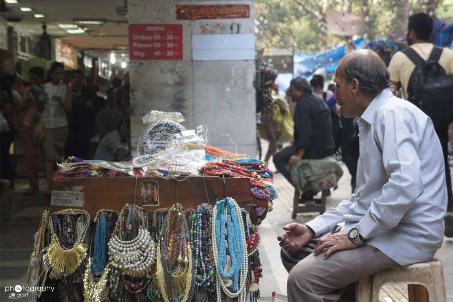 At Janpath Market, Photo by Atif Amin