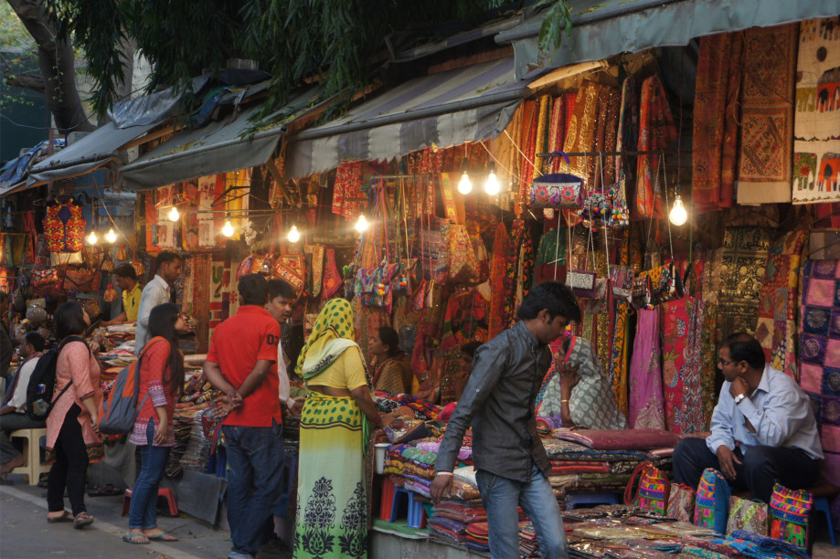 Janpath Market, Photo by Atif Amin