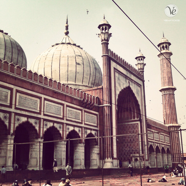 Jama Masjid. Photo by Atif Amin.